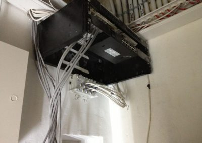 Installation Of server panel at a location