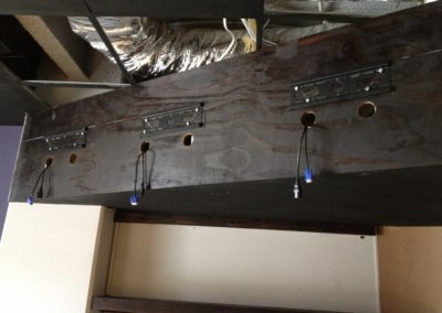 Phase 3 (Mount Brackets & Cabling)